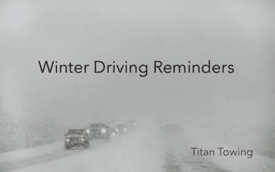 WINTER DRIVING REMINDERS